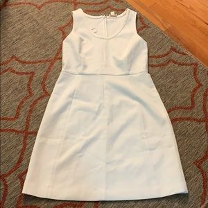 J. Crew white work dress